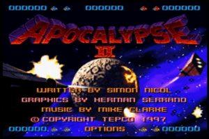 APOCALYPSE2_タイトル画面