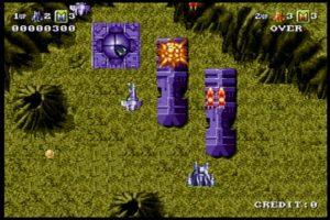BATTLE SQUADRON_ゲーム画面