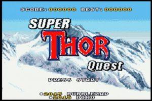 SUPER THOR QUEST 01
