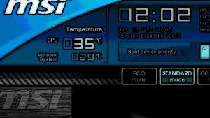 マザーボードのBIOSを更新した話